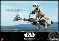 Gallery Image of Scout Trooper Sixth Scale Figure