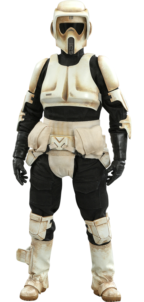 Hot Toys Scout Trooper Sixth Scale Figure