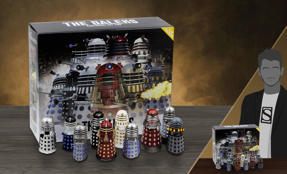 Gallery Feature Image of Dalek Parliament Part 2 Box Set - Click to open image gallery
