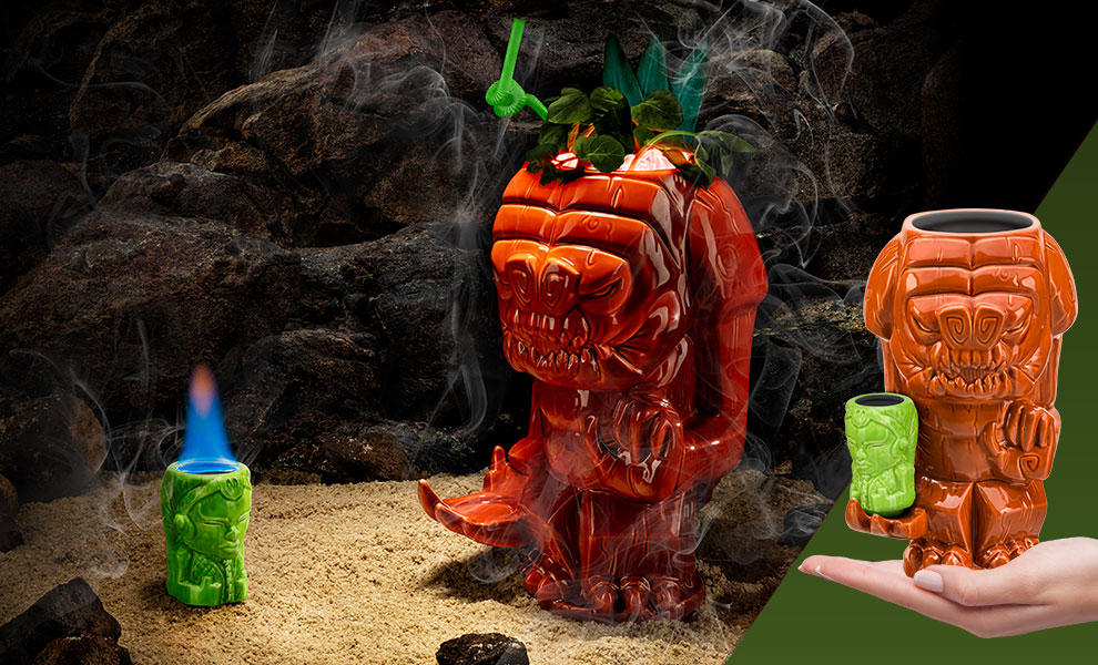Gallery Feature Image of Rancor Tiki Mug - Click to open image gallery
