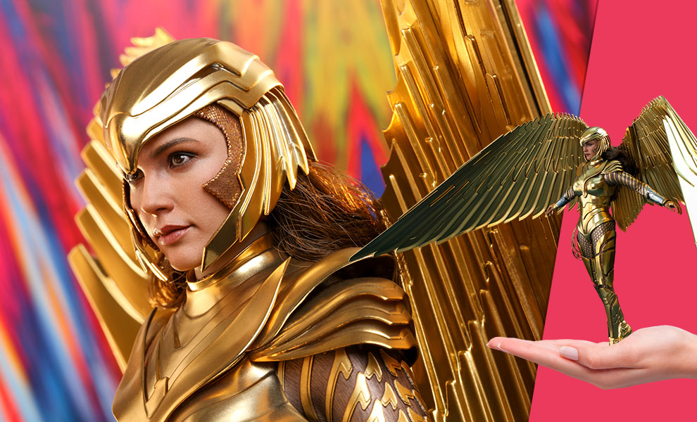 Gallery Feature Image of Golden Armor Wonder Woman (Deluxe) Sixth Scale Figure - Click to open image gallery