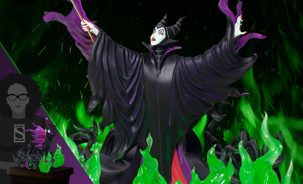 Gallery Feature Image of Maleficent Figurine - Click to open image gallery