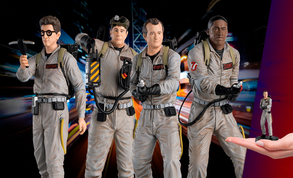 Gallery Feature Image of Ghostbusters Collectible Set - Click to open image gallery