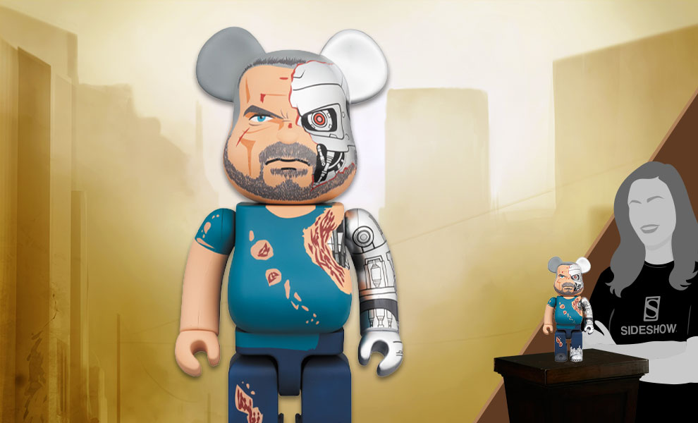 Gallery Feature Image of Be@rbrick T-800 400% Collectible Figure - Click to open image gallery