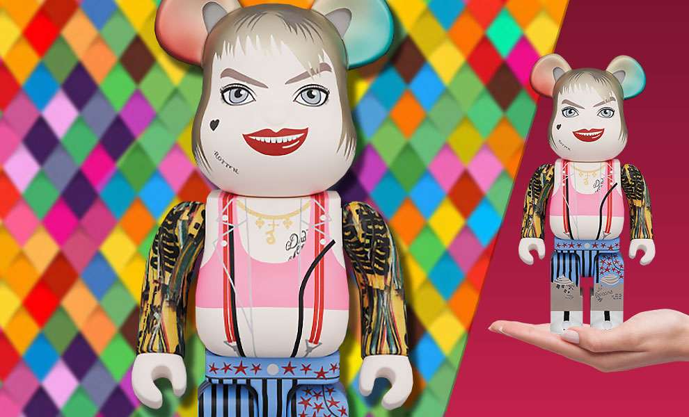 Gallery Feature Image of Be@rbrick Harley Quinn 400% Collectible Figure - Click to open image gallery