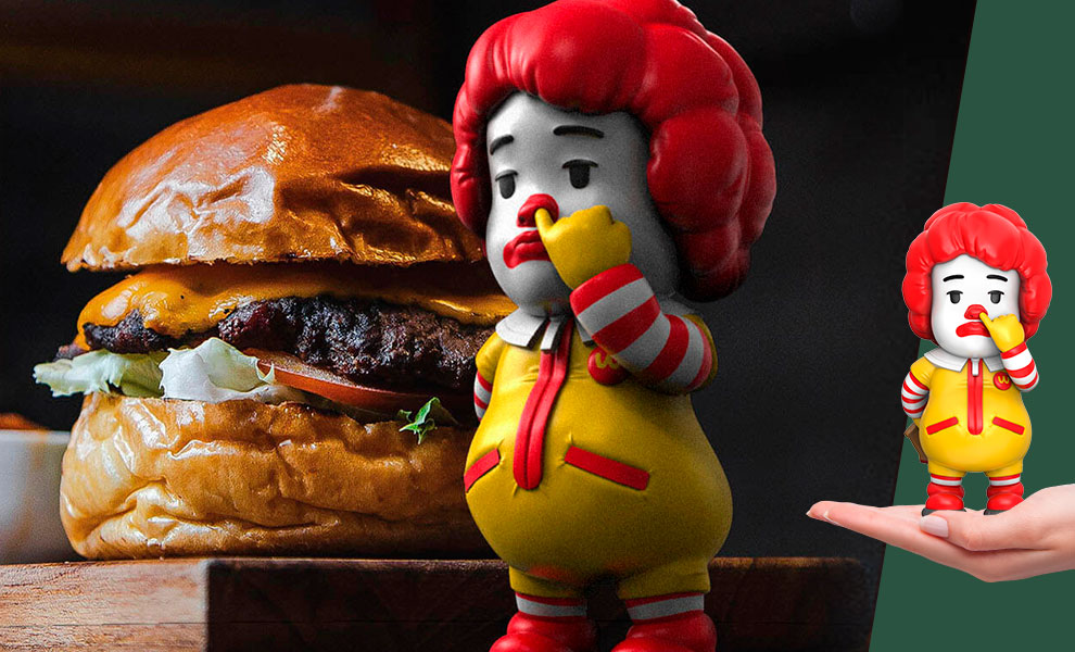 Gallery Feature Image of Picky Eaters: The Clown Vinyl Collectible - Click to open image gallery