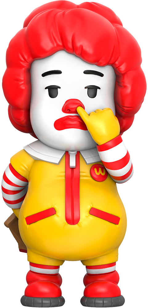 Mighty Jaxx Picky Eaters: The Clown Vinyl Collectible