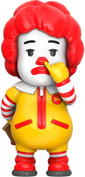 Picky Eaters: The Clown Vinyl Collectible