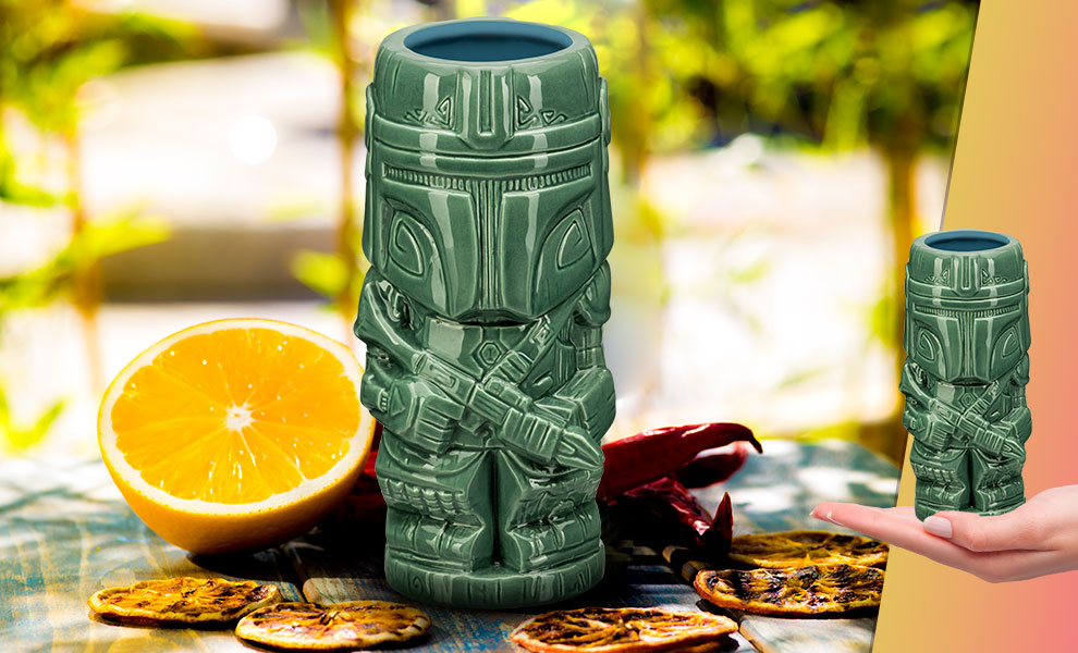 Gallery Feature Image of The Mandalorian Tiki Mug - Click to open image gallery