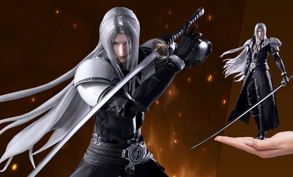 Gallery Feature Image of Sephiroth Action Figure - Click to open image gallery