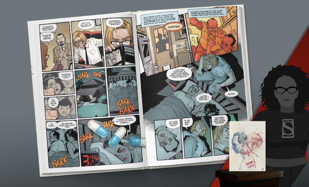 Gallery Feature Image of Fight Club 2 Library Edition Book - Click to open image gallery