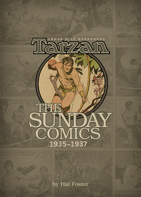 Dark Horse Comics Tarzan: The Sunday Comics Volume 3 1935-1937 Book