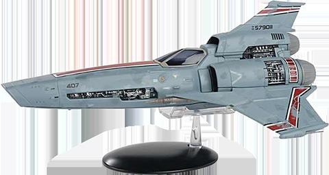 Eaglemoss Viper MK III (Blood and Chrome) Model