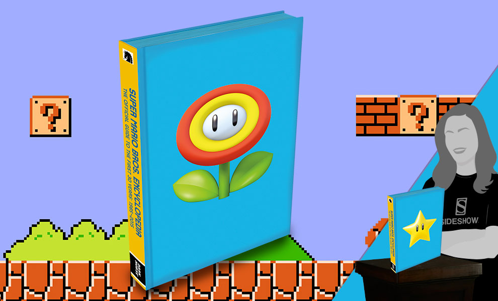 Gallery Feature Image of Super Mario Encyclopedia Limited Edition Book - Click to open image gallery