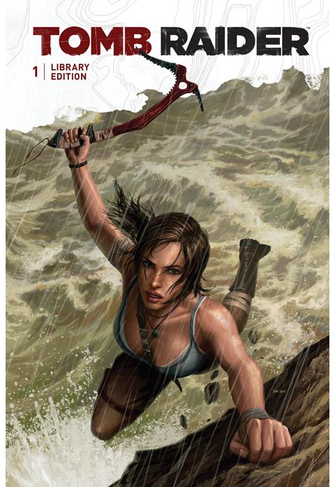 Dark Horse Comics Tomb Raider Library Edition (Volume 1) Book