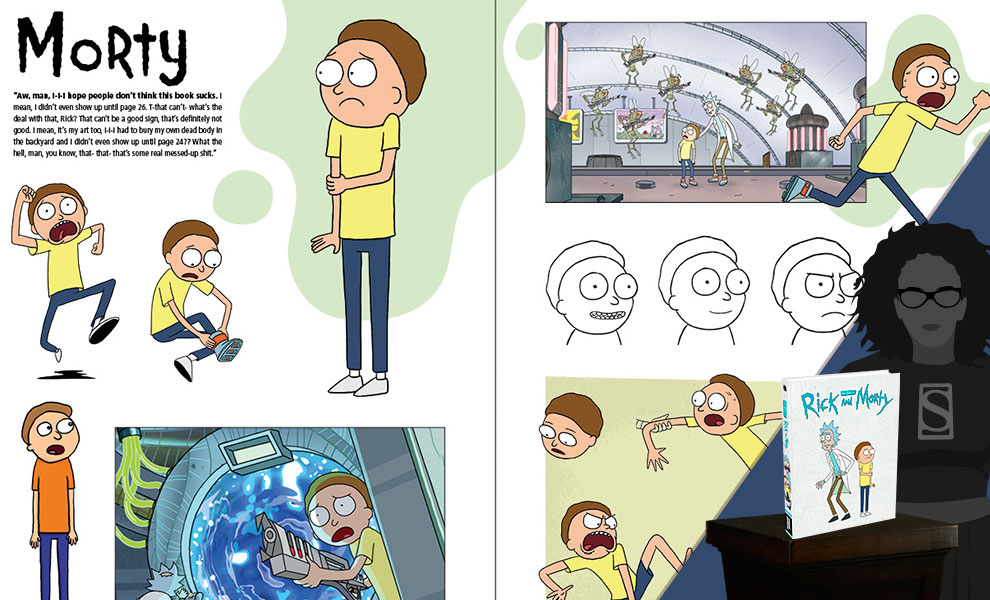 Gallery Feature Image of The Art of Rick and Morty Book - Click to open image gallery