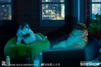 Gallery Image of Blue & White Cat Figurine