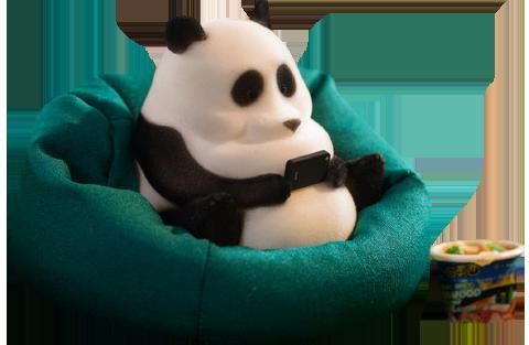 Manas SUM Panda Figurine