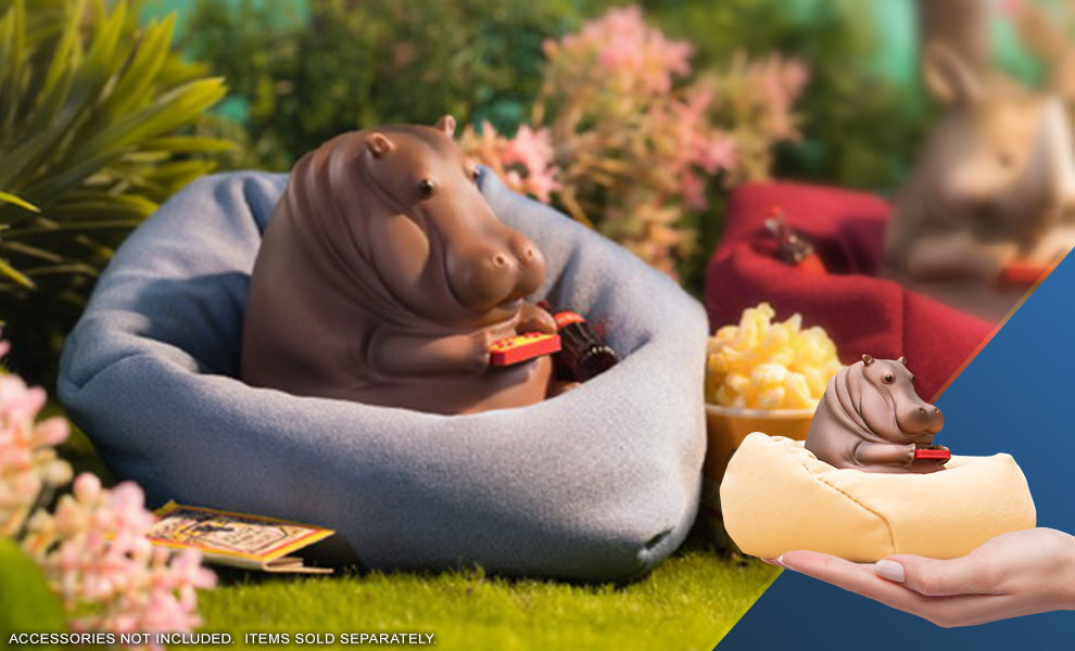 Gallery Feature Image of Hippo Figurine - Click to open image gallery