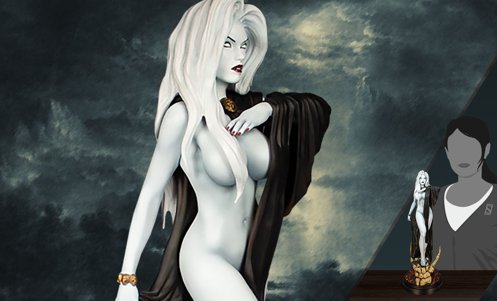 Gallery Feature Image of Lady Death: Seductress Statue - Click to open image gallery