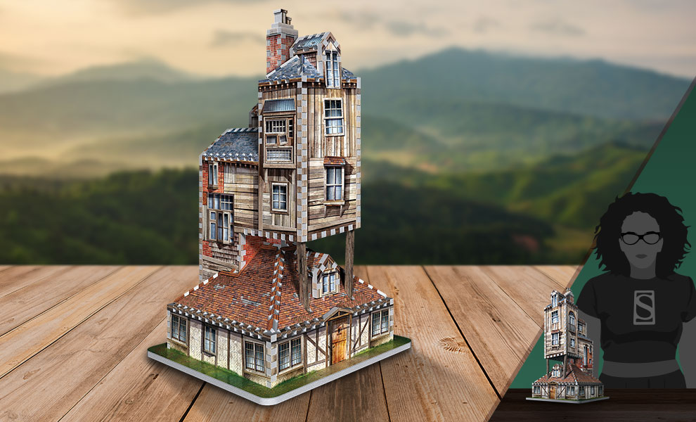 Gallery Feature Image of The Burrow - Weasley Family Home 3D Puzzle Puzzle - Click to open image gallery