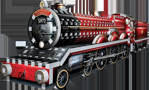 Wrebbit Puzzles Inc. Hogwarts™ Express 3D Puzzle Puzzle