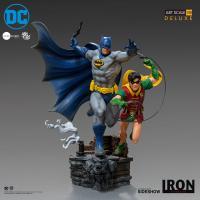 Gallery Image of Batman & Robin Deluxe 1:10 Scale Statue