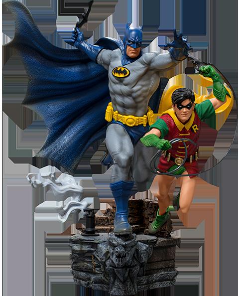 Iron Studios Batman & Robin Deluxe 1:10 Scale Statue