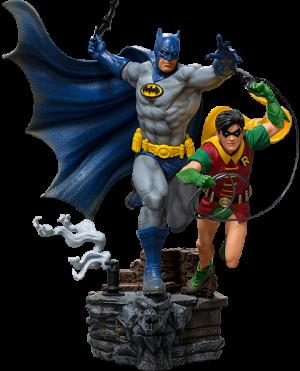 Batman & Robin Deluxe 1:10 Scale Statue