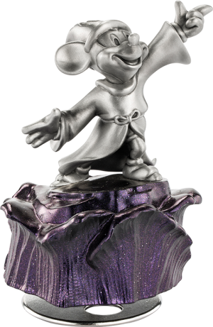 Sorcerer Mickey Musical Carousel Pewter Collectible