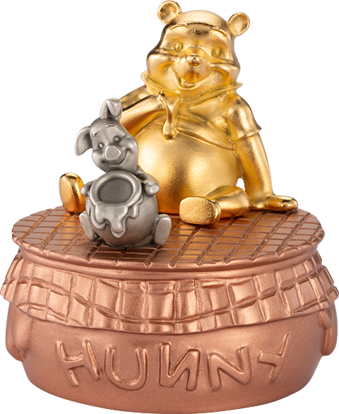 Royal Selangor Winnie the Pooh Musical Carousel Pewter Collectible