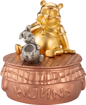Winnie the Pooh Musical Carousel Pewter Collectible