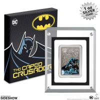 Gallery Image of The Caped Crusader -  Batman 1oz Silver Coin Silver Collectible