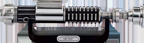 Royal Selangor Obi-Wan Lightsaber Document Holder Pewter Collectible