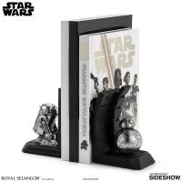 Gallery Image of R2-D2 Bookend Pewter Collectible
