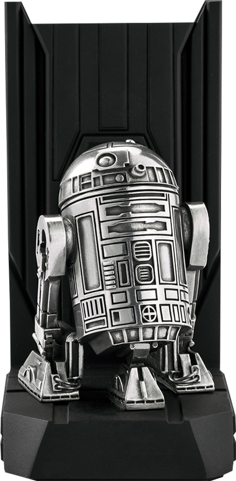 Royal Selangor R2-D2 Bookend Pewter Collectible