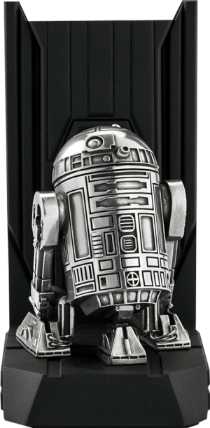 R2-D2 Bookend Pewter Collectible