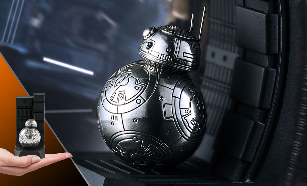 Gallery Feature Image of BB-8 Bookend Pewter Collectible - Click to open image gallery