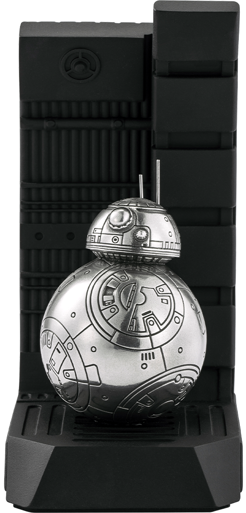 Royal Selangor BB-8 Bookend Pewter Collectible