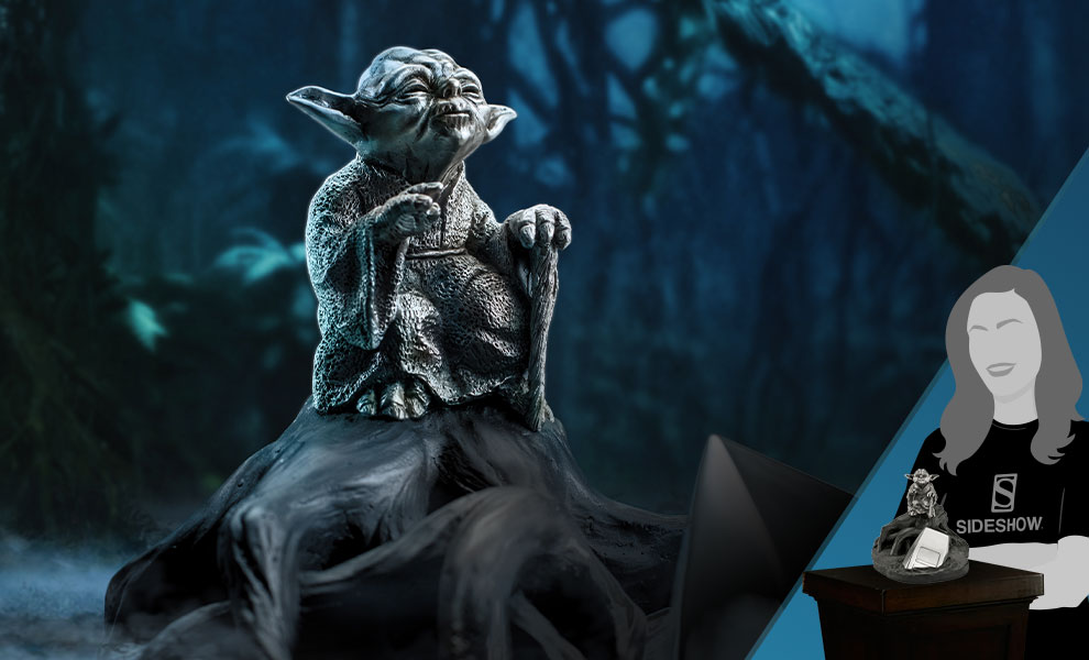 Gallery Feature Image of Yoda Jedi Master (Limited Edition) Figurine Pewter Collectible - Click to open image gallery