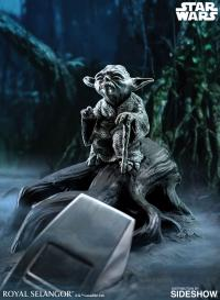 Gallery Image of Yoda Jedi Master (Limited Edition) Figurine Pewter Collectible