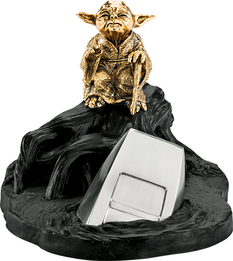 Royal Selangor Yoda Jedi Master (Gilded Gold) Limited Edition Figurine Pewter Collectible