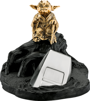 Yoda Jedi Master (Gilded Gold) Limited Edition Figurine Pewter Collectible