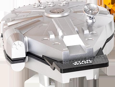 Uncanny Brands, LLC Deluxe Millennium Falcon Waffle Maker Kitchenware
