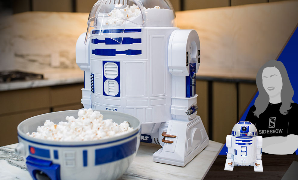 Gallery Feature Image of R2-D2 Popcorn Maker Kitchenware - Click to open image gallery