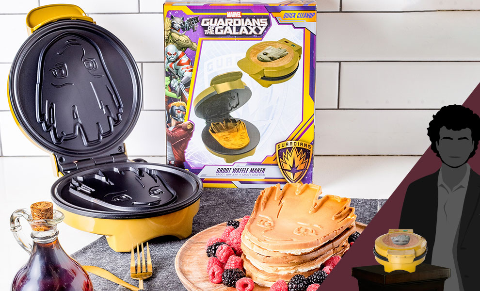 Gallery Feature Image of Groot Waffle Maker Kitchenware - Click to open image gallery