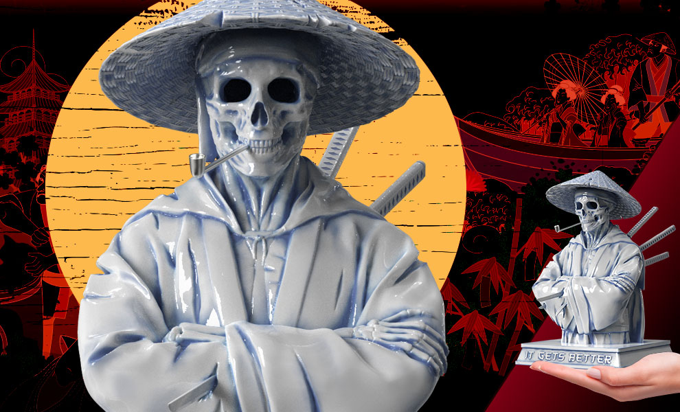 Gallery Feature Image of Samurai (Hell Chamber) Statue - Click to open image gallery