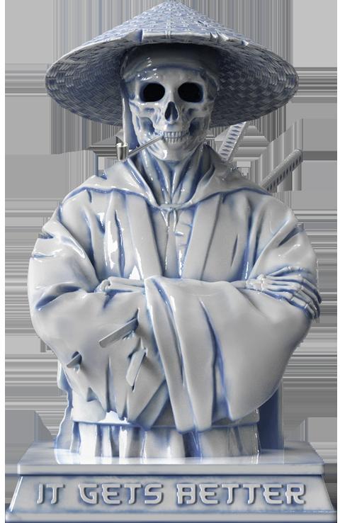Mighty Jaxx Samurai (Hell Chamber) Statue