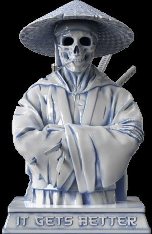 Samurai (Hell Chamber) Statue