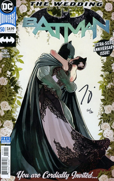 Dynamic Forces Batman #50 Book